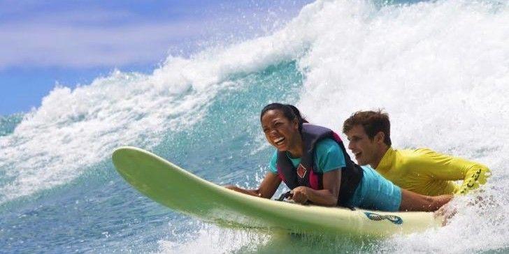 AccesssurfAbigail and Keola- smile! Caitlin