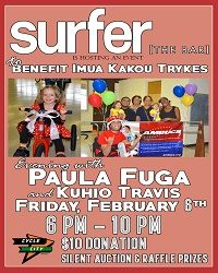 Surfer the Bar -benefit Feb
