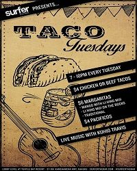 Surfer the Bar - taco Tues