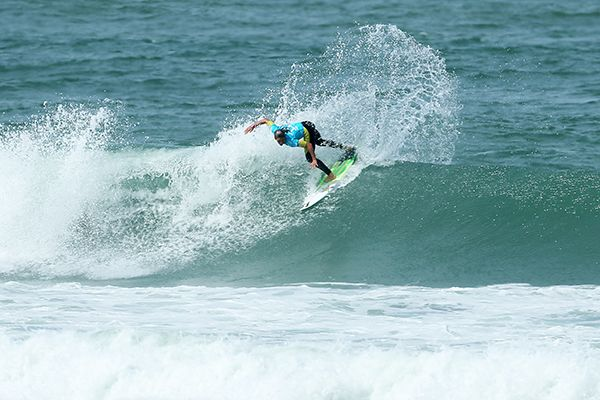 Courtney Conlongue winning the  Oi Rio Pro in Barra De Tijuca, Rio, Brasil.
