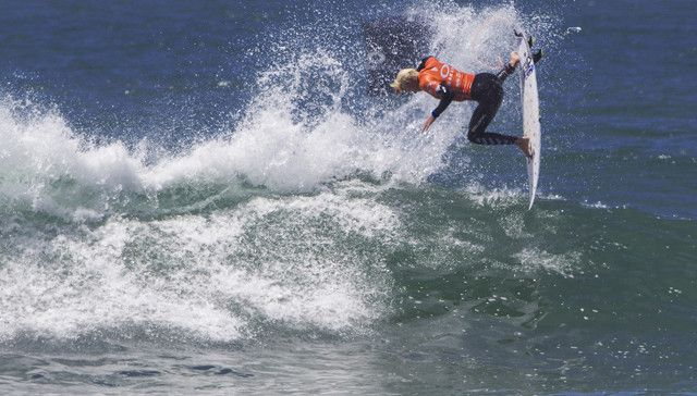 """IMAGE CAPTION: LOWER TRESTLES, California, USA  (Friday, May 1, 2015):  Jack Freestone of Gold Coast, Australia (pictured) winning his Round 3 with a solid 17.54 two wave heat total (out of 20.00) to earn his place into Round 4 where he will do battle for a place in the quarterfinals at the Oakley Lowers Pro in California, USA on Friday May 1, 2015.   IMAGE CREDIT: © WSL / Rowland PHOTOGRAPHER: Sean Rowland SOCIAL MEDIA TAG: @wsl   The images attached or accessed by link within this email (""""Images"""") are hand-out images from the Association of Surfing Professionals LLC (""""World Surf League""""). All Images are royalty-free but for editorial use only. No commercial or other rights are granted to the Images in any way. The Images are provided on an """"as is"""" basis and no warranty is provided for use of a particular purpose. Rights to an individual within an Image are not provided. Copyright to the Images is owned by World Surf League. Sale or license of the Images is prohibited. ALL RIGHTS RESERVED."""
