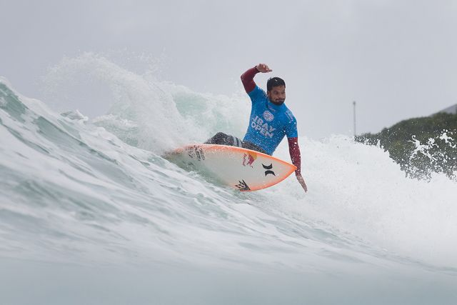 "JEFFREYS BAY, South Africa (Saturday, July 18, 2015) – Michel Bourez of Tahiti (pictured) placing second his Round 4 heat at the JBay Open to advance into the Quarterfinals on Saturday July 18, 2015.  IMAGE CREDIT: WSL / Cestari PHOTOGRAPHER: Kelly Cestari SOCIAL MEDIA TAG: @wsl @kc80 The images attached or accessed by link within this email (""Images"") are the copyright of the Association of Surfing Professionals LLC (""World Surf League"") and are furnished to the recipients of this email for world-wide editorial publication in all media now known or hereafter created. All Images are royalty-free but for editorial use only. No commercial or other rights are granted to the Images in any way.  The photo content is an accurate rendering of what it depicts and has not been modified or augmented except for standard cropping and toning. The Images are provided on an ""as is"" basis and no warranty is provided for use of a particular purpose. Rights to an individual within an Image are not provided. Sale or license of the Images is prohibited. ALL RIGHTS RESERVED."