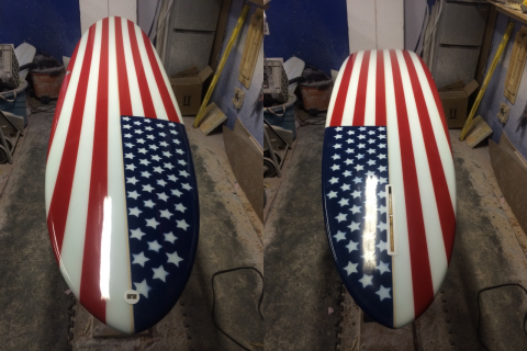 4th of July boards
