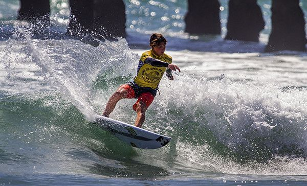 Griffin Colapinto (USA) has won the  Men's Junior at the Vans US Open of Surfing.
