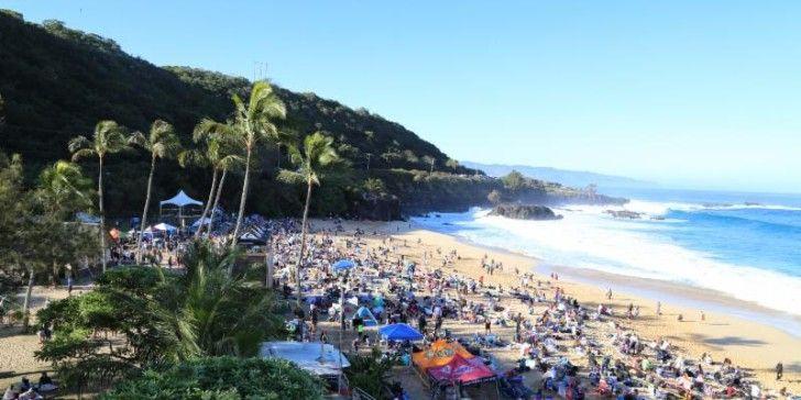 EDDIE packed beache