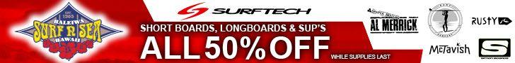Surf n Sea Surf Tech Feb 2016 sale