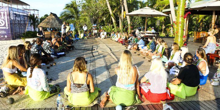 Womens Fiji Pro Opening Ceremony.