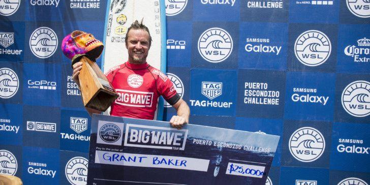 Grant Baker wins the WSL 2016 Puerto Escondito Challenge