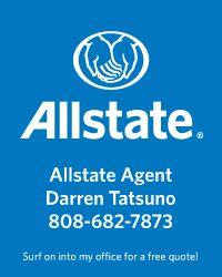 Darren Tatsuno. Allstate