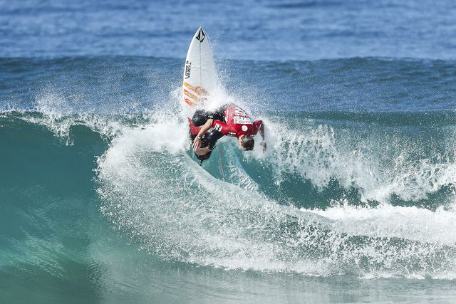 Joan Duru of France (pictured) is the runner-up at the Ballito Pro Presented by Billabong after placing second to Conner O'Leary of Australia in the final on Sunday July 3, 2016. PHOTO: © WSL / Cestari. SOCIAL : @wsl @KC80 This image is the copyright of the World Surf League and is provided royalty free for editorial use only, in all media now known or hereafter created. No commercial rights granted. Sale or license of the images is prohibited. This image is a factually accurate rendering of what it depicts and has not been modified or augmented except for standard cropping and toning. ALL RIGHTS RESERVED.
