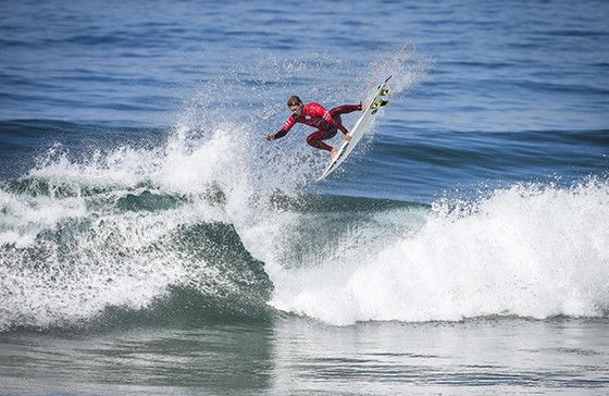 Jesse Mendes (BRA) Placed 1st in Heat 1 of Round Five at Billabong Pro Cascais 16