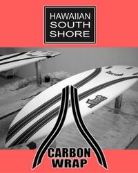Hawaiian South shore.   Lost Carbonwrap 11.16
