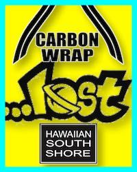 Hawaiian South shore. Lost Carbon Wrap