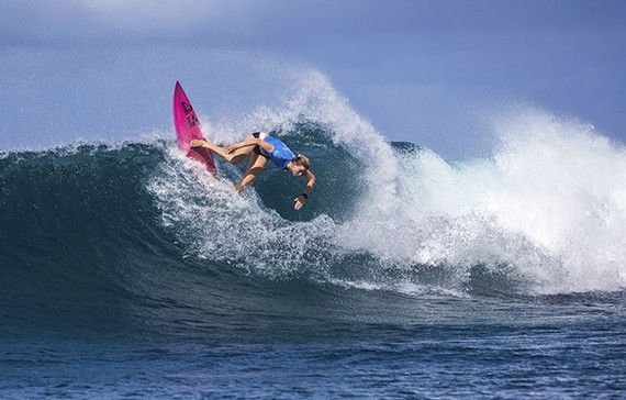 Bianca Buitendag (ZAF) placed 2nd in Heat 3 of Round One at  Maui Women's Pro