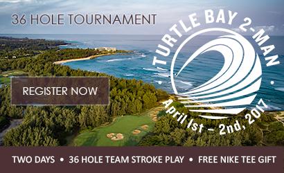 Turtle Bay Resort: 2 man golf