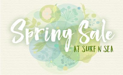 Surf n Sea Spring Sale 3/17