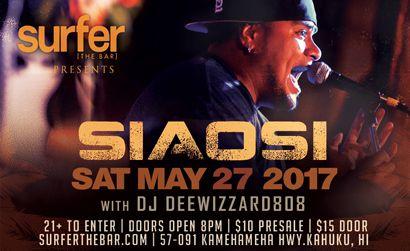 Surfer the Bar Siaosi 5/27