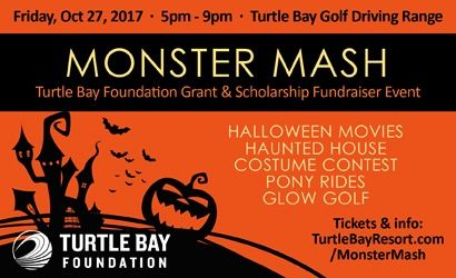 Turtle Bay Monster Mash Oct 27