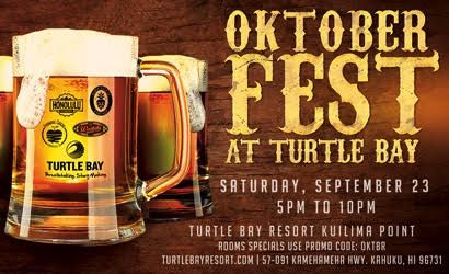 Turtle Bay Resort Oktoberfest