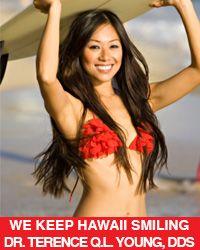 Terry Young Smiling Bikini Girl