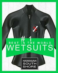 Hawaiian South Shore Wetsuit