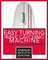 Hawaiian South Shore Stewart Turning Machine Dec