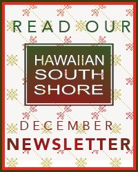 Hawaiian South Shore Holiday 12/5/17