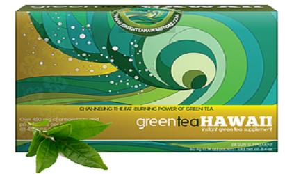 GREEN TEA HAWAII STORE BOX