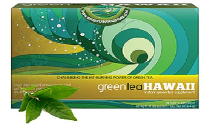 GREEN TEA HAWAII STORE BOX