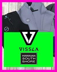 Hawaiian South Shore Vissla Wetsuits 1.15.18