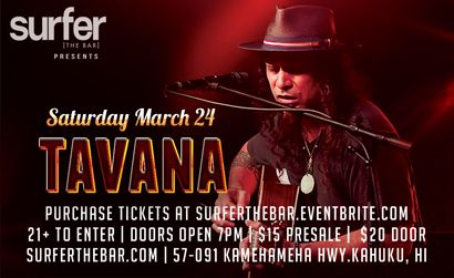 SURFER THE BAR TAVANA 3/24