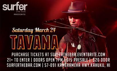 SURFER THE BAR TAVANA 3/24