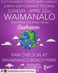 Sustainable Waimanalo Earth Day 4/22