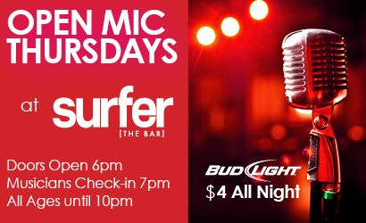 Surfer the Bar Kanikapila Thursdays 7.4.18