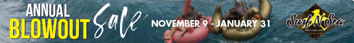 Surf n Sea Blow Out Nov-Jan19
