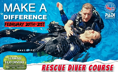 HAWAII ECO DIVER SURVIVAL COURSE FEB 2019