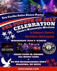 Cholos Salsa July 3 19