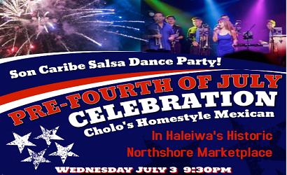 Cholos Salsa July 3 2019