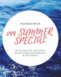 PILATES O KALA SUMMER 2019 SPECIAL