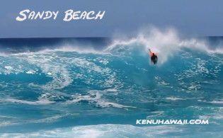 Sandy Beach big waves-Oahu beaches-Hawaii-bodyboarding-Makapuu-Pipeline