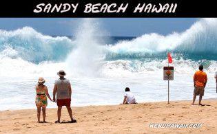 Sandy Beach-bodyboarding Hawaii-Oahu beaches-bodyboard-Makapuu-the Wedge